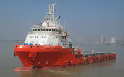 Two Seacor New-Builds in China Shipyard